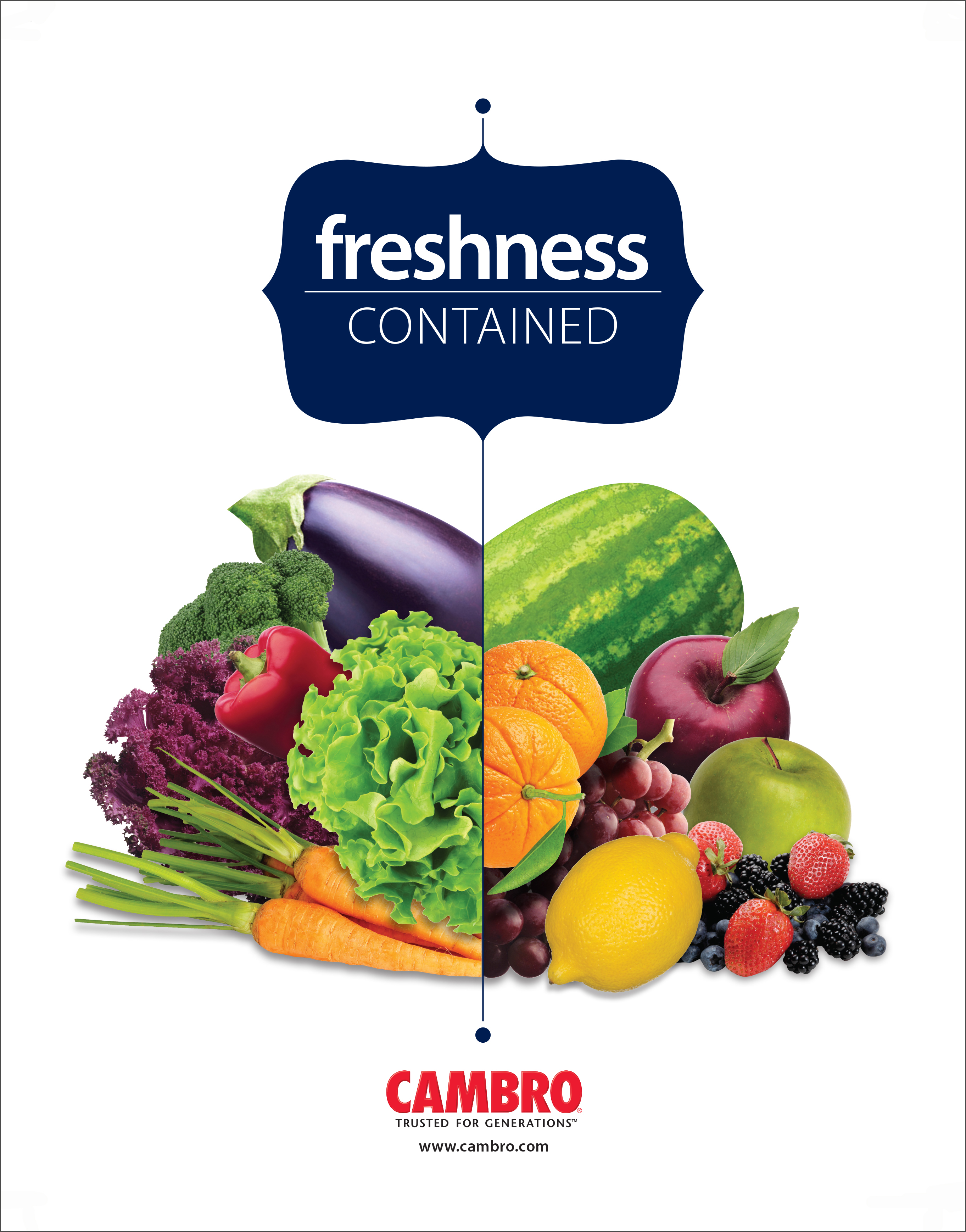 Cambro Freshness Contained Catalog